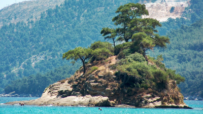 Thassos Island Today and Before